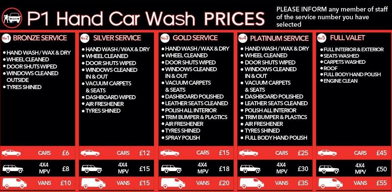 P1 Hand Car Wash Now Open Hillstreet