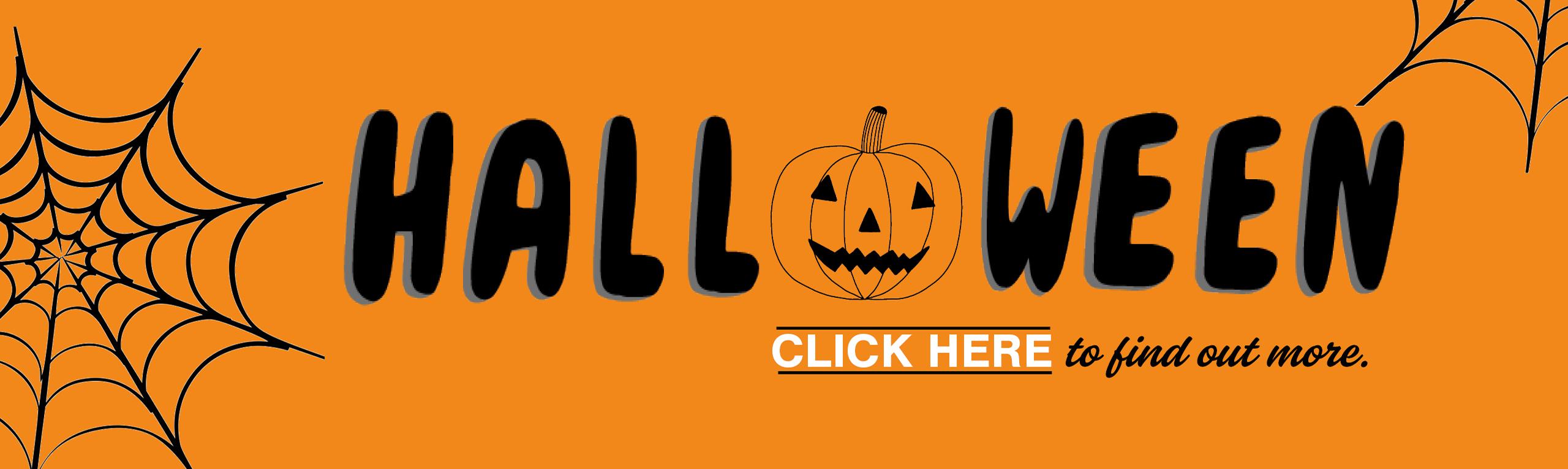 Halloween website Banner – HillStreet